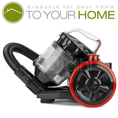 Dihl A Rated 2L Compact Cylinder Vacuum Cleaner Cyclonic Bagless HEPA Hoover