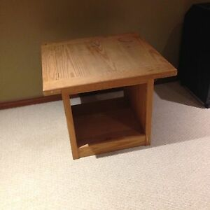 Crate Designs side table