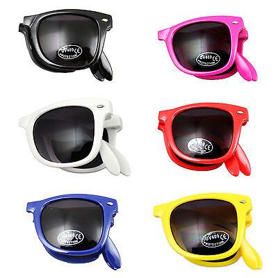 FOLDABLE SUNGLASSES FASHION UNISEX UV400 DRIVERS WAY VANS CAR (Vans Folding Sunglasses)