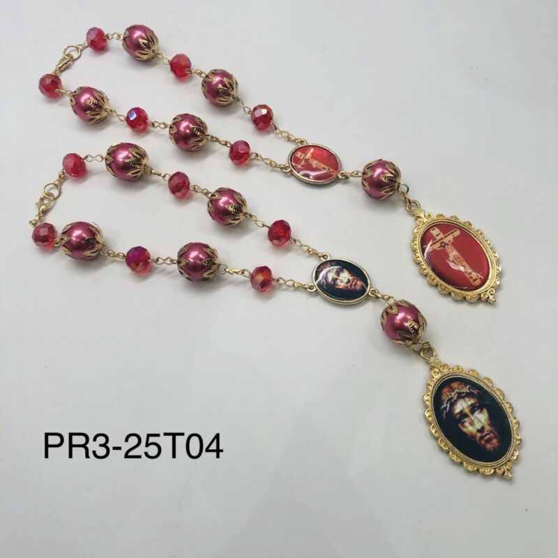 Rosario Preciosa Sangre de Cristo Precious Blood of Christ catholic Rosary Jesus