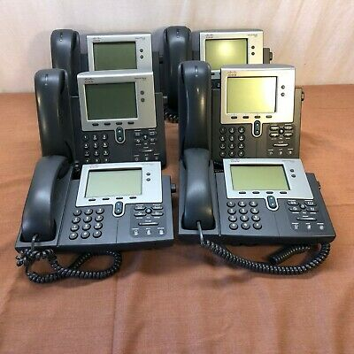 Lot of 6 Cisco IP Office Business Telephones 7942