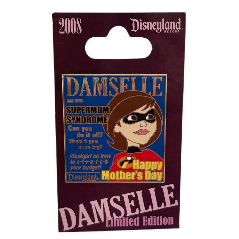 Disney DLR Pin 61650 Damselle Magazine Collection 2008 Elastigirl  LE1000