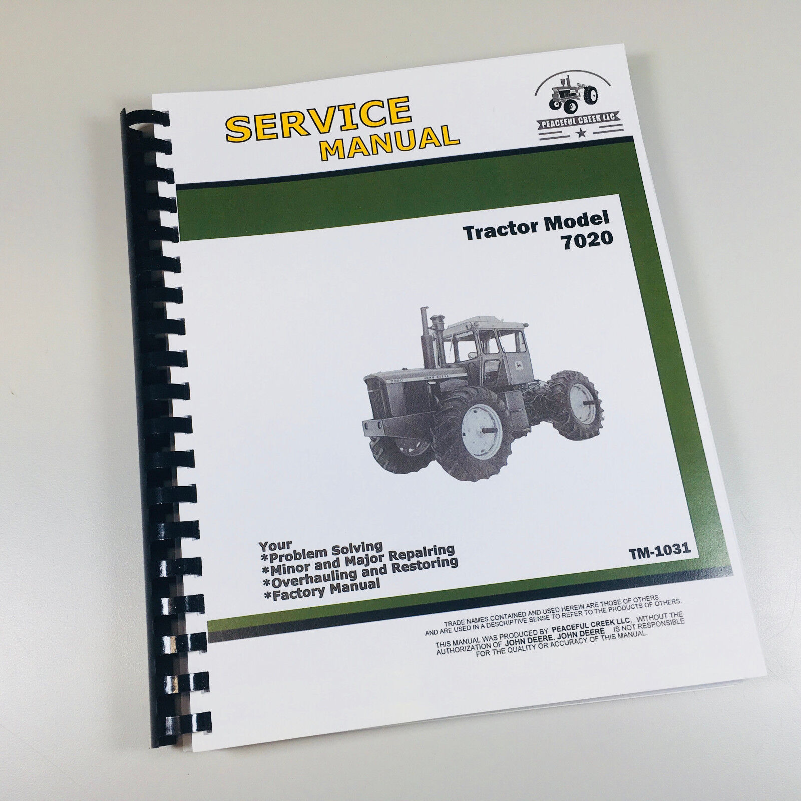 service manual for john deere 7020 tractor technical repair shopdetails about service manual for john deere 7020 tractor technical repair shop book ovhl