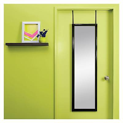 Over-the-Door Mirror Black - Room Essentials™