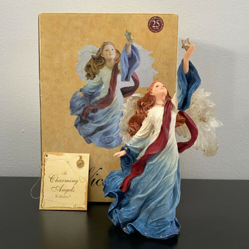 Boyds Charming Angels Victoria Guardian of Freeedom Mint in Box with Charm