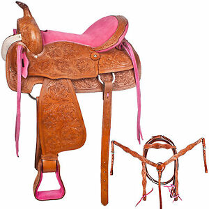 Barrel racing tack sets