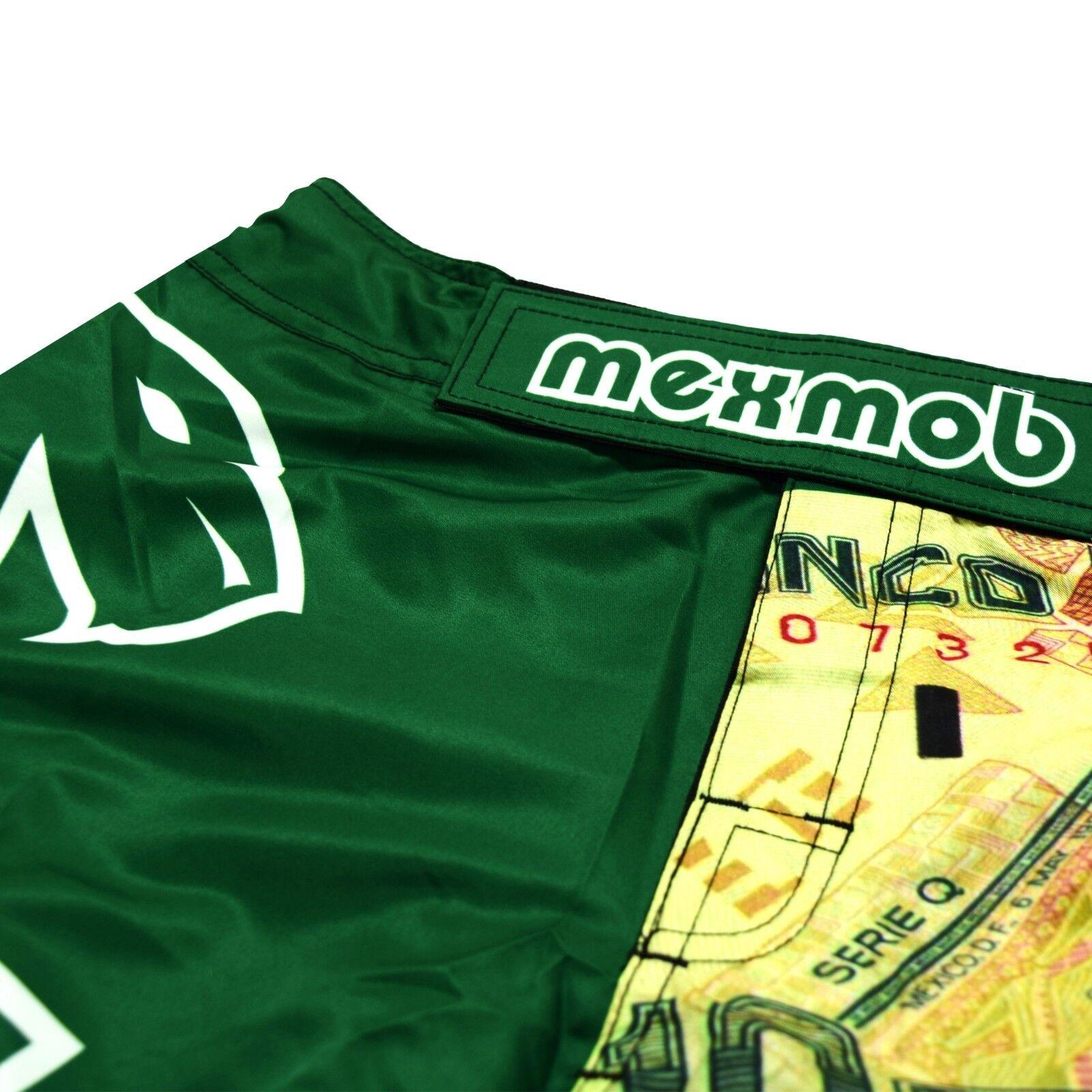 MEXMOB ZAPATA MMA JIU JITSU GRAPPLING BOX FIGHT SHORT