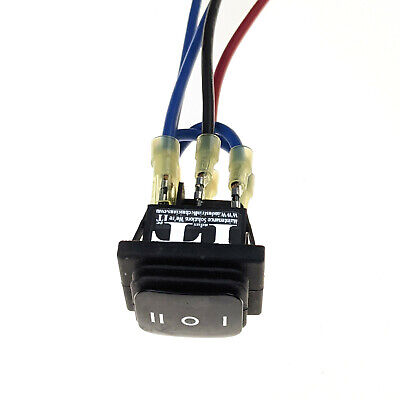 Industec Motor Polarity Reversing - Momentary Rocker Switch Wires 12v Waterproof