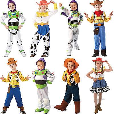 Disney-toy Story Kostüme (Child Disney Toy Story New Fancy Dress Costume Pixar Movie Outfit Kids Boys Girl)