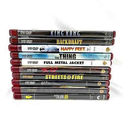 Lot of (10) HD DVD Movies