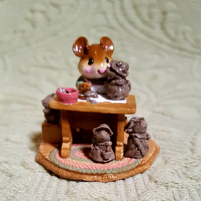"""Wee Forest Folk, """"Mrs. Mousey"""