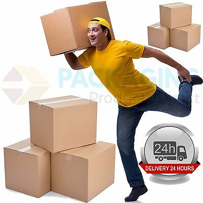 LARGE MAILING DOUBLE WALL Cardboard House Moving Boxes Packing Storage Boxes