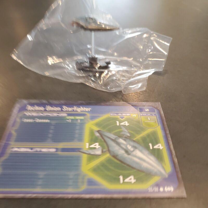 WOTC Star Wars Minis Starship Battles Techno Union Starfighter New