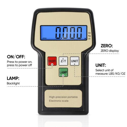 Digital HVAC A/C Refrigerant Freon Charging R 220LB Electronic Refrigerant Scale Business & Industrial