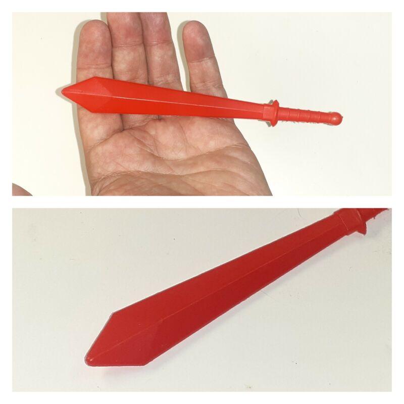 Vintage Shogun Warriors Mazinga Red Sword Weapon Mattel ORIGINAL 1970