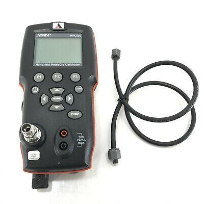 Ametek Jofra Hpc600 010c Digital Handheld Pressure Calibrator 150 Psi 10 Bar 1