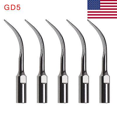 Usa 5pcs Dte Satelec Type Dental Ultrasonic Scaler Tip Gd5 Ko