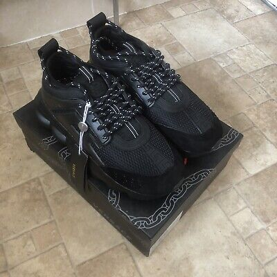 VERSACE CHAIN REACTION TRAINERS - SIZE 42