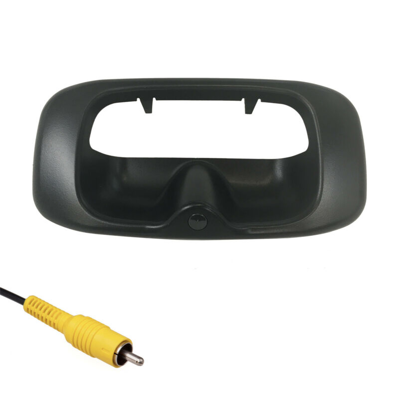 For Chevrolet Silverado/GMC Sierra (99-06) Black Tailgate Handle Backup Camera