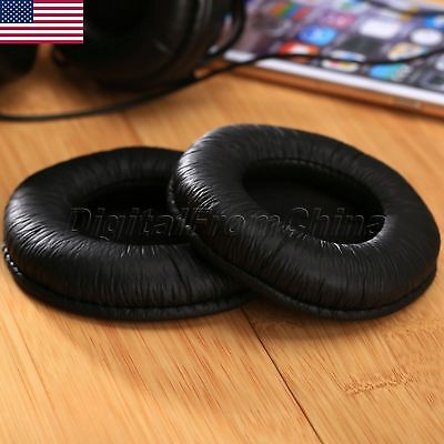 HighQ PU Leather Replacement Ear Pads for Sennheiser HD205 HD205ii HD225 1pair
