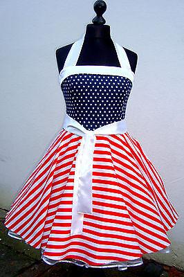 50er,Petticoat,Rockabilly,Tanz,Stars,Sripes,Flagge,USA,Amerika,Pinup,Dress,Kleid ()