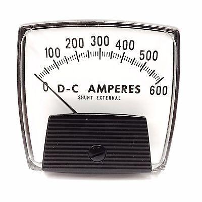 254324ecsj Yokogawa Panel Meter 0-600 Dc Amperes
