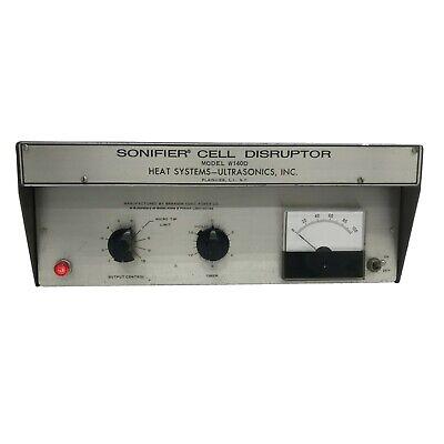 Branson W140d Sonifier Cell Disruptor No Converter Horn
