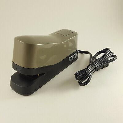 Panasonic As-302 Electric Stapler Desk Top Stapler 20 Sheet Works Tested - Gray
