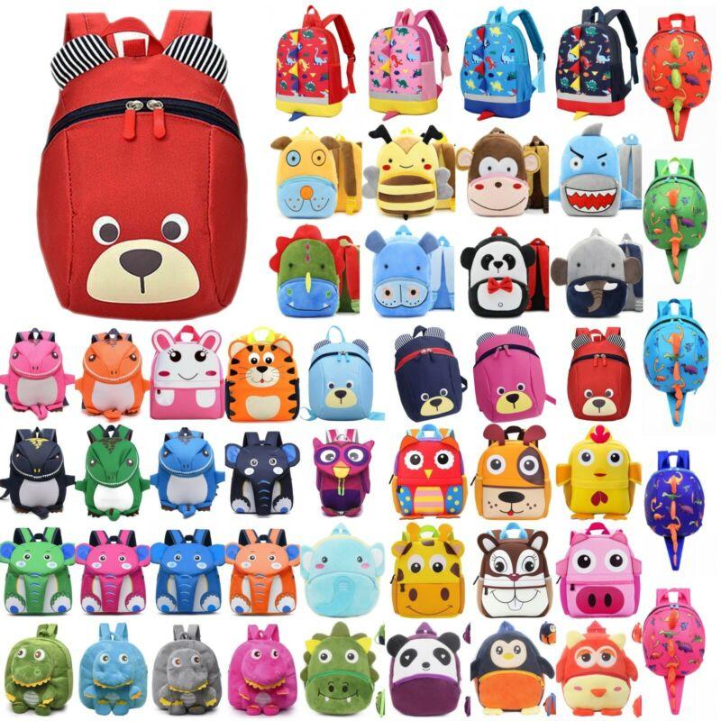 Kids Toddler Girls Boys Cute Animal Backpack Kindergarten Sc