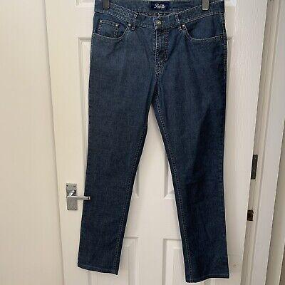 Hiltl Jeans Navy Blue Denim Perfetto 34