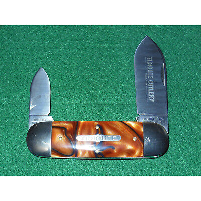 GEC #36 Sunfish Knife Tidioute Copper Snake 1095 362208 Great Eastern Cutlery