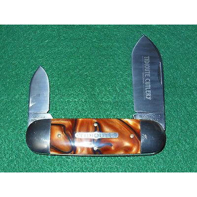 GEC #36 Sunfish Knife Tidioute Copper Snake 1095 362208 Great Eastern Cutlery