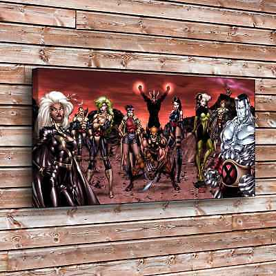 X-Men Wolverine Psylocke Painting HD Print on Canvas Home Decor Wall Art (Wolverine Pictures X-men)