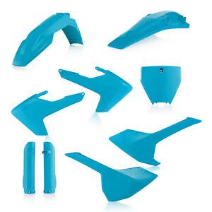 Acerbis Full Plastic Kit Blue Husky TC TX FC FX 125 250 350 450 2016 2017 2018
