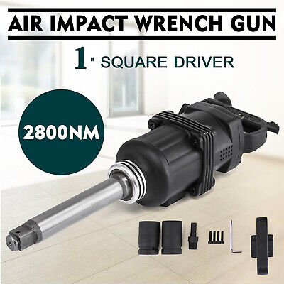 1 Pneumatic Impact Wrench Industrial Air Impact Wrench 2800n.m W 8 Anvil
