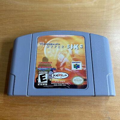 Nintendo 64 N64 NTSC-U USA - Top Gear Hyper Bike