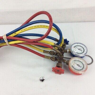 Robinair R134a Manifold Gauge Set 13136 Hvac Ac Refrigeration