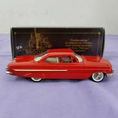 The Brooklin Collection BRK 44 1961 Chevrolet Impala Sport Coupe Diecast Model
