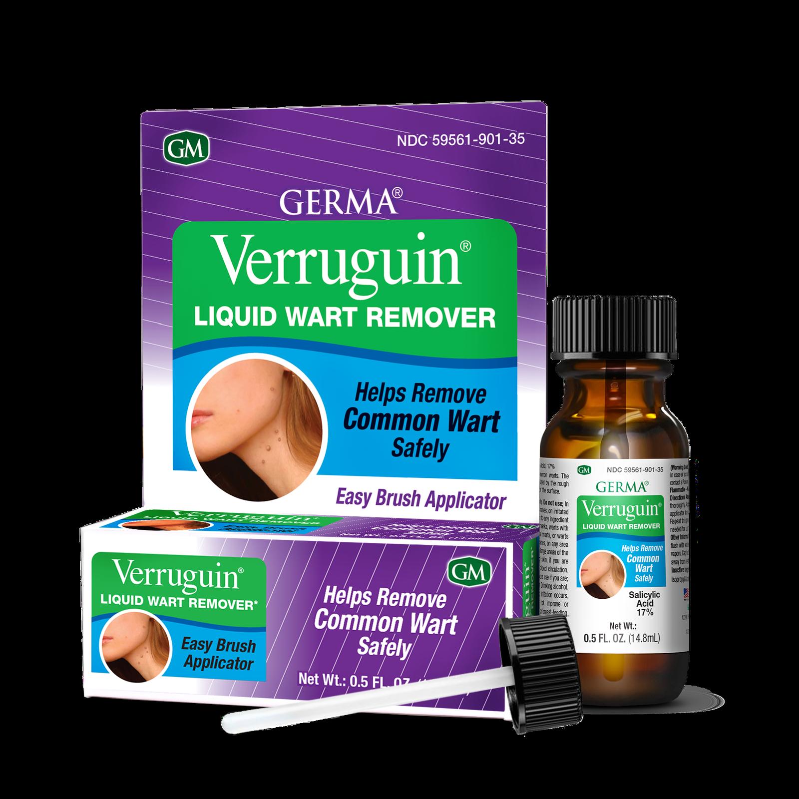 VERRUGUIN Skin Wart Remover Removedor de Verrugas 0.5 oz