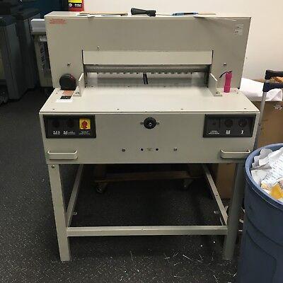 Triumph Paper Cutter Model 6550 25 12 W 2 Spare Blades