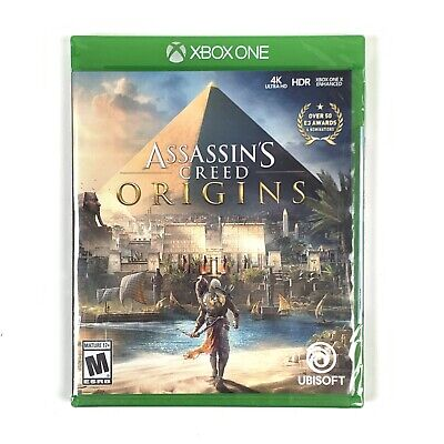Assassin's Creed: Origins (Microsoft Xbox One, 2017) Brand New/Factory Sealed