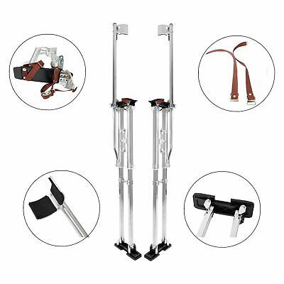 Drywall Stilts 48-64 Inch Aluminum Tool Painters Walking Painting Taping Silver