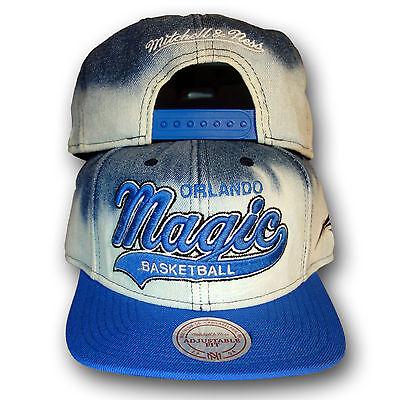 Original Mitchell & Ness Orlando Magic NBA Snapback Cap dyed denim Jeans Orlando Magic Snap