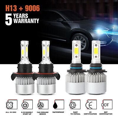 H13+9006 LED Headlight Fog Light FIT for Dodge Ram 1500 2500 3500 2006-09 3830W