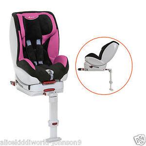 hauck varioguard isofix 2 voie si ge de voiture si ge auto en rose noir ebay. Black Bedroom Furniture Sets. Home Design Ideas