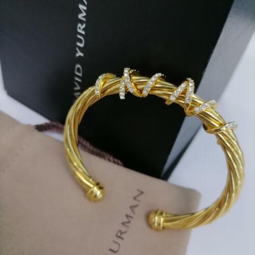David Yurman Helena gold bracelet