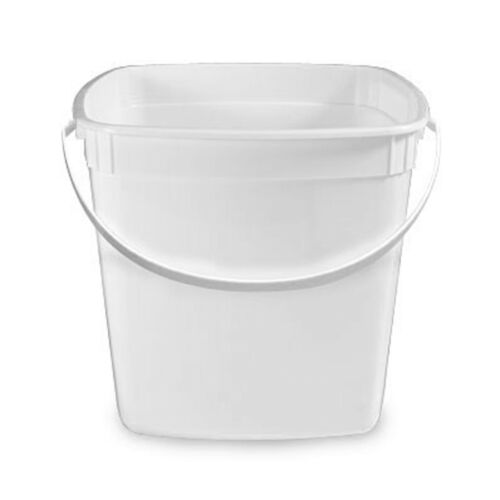 100 Plastic Pails Square 1.5 Gal. Wholesale USA  Made Plastic / Berry Picking