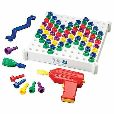 Educational Insights Design and Drill Activity Center EI-4112 Play Tools Art Set