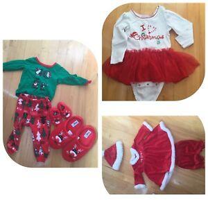Noel ensembles pour  bébé 12 mois
