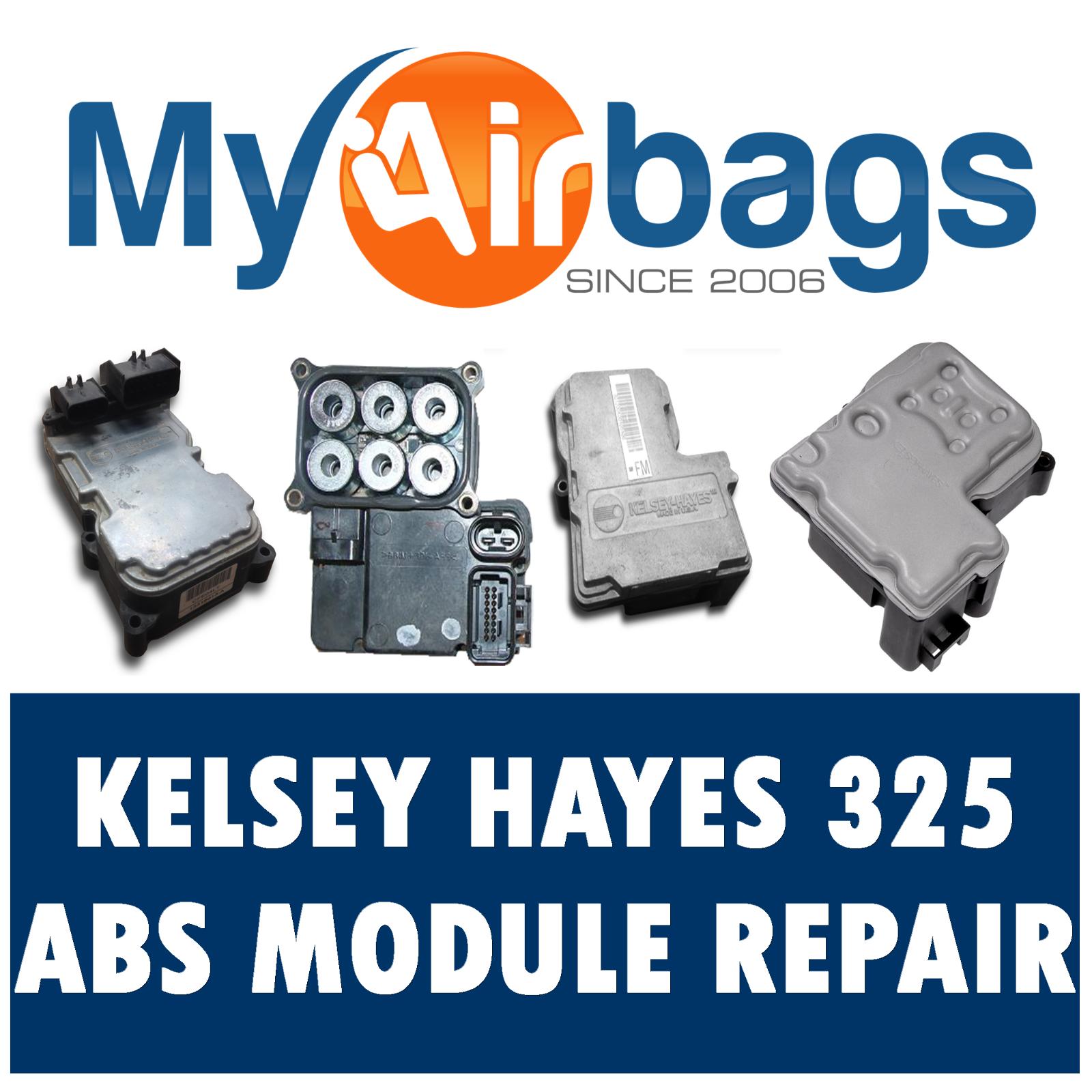 GMC 3500 HD ABS / EBCM COMPUTER MODULE REPAIR REBUILD Kelsey Hayes 325  KH325
